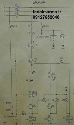 نقشه تابلو برق سردخانه