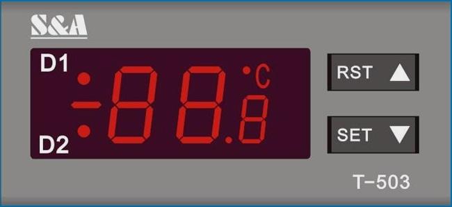 تنظیم دمای چیلر cw5200